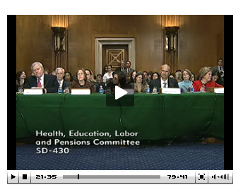 Senate Hearing on Health IT