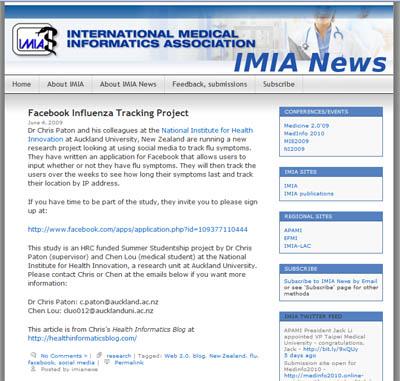 IMIA News