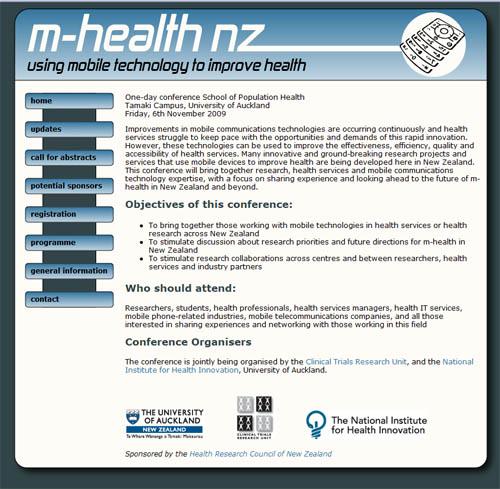 m-health-website
